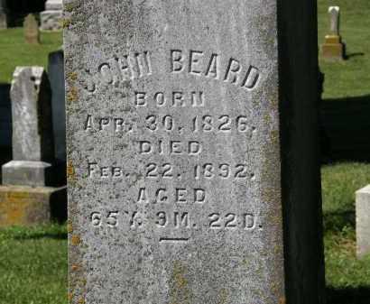 BEARD, JOHN - Delaware County, Ohio | JOHN BEARD - Ohio Gravestone Photos