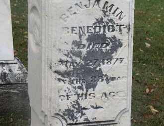 BENEDICT, BENJAMIN - Delaware County, Ohio | BENJAMIN BENEDICT - Ohio Gravestone Photos