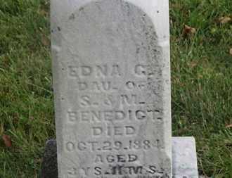 BENEDICT, EDNA G. - Delaware County, Ohio | EDNA G. BENEDICT - Ohio Gravestone Photos