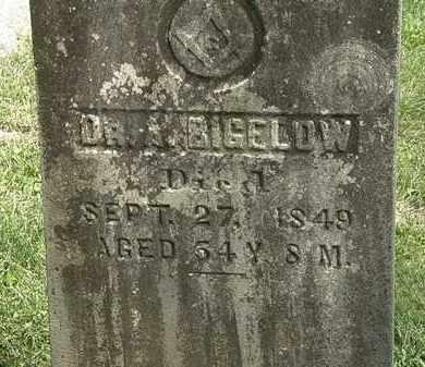 BIGELOW, A. - Delaware County, Ohio | A. BIGELOW - Ohio Gravestone Photos