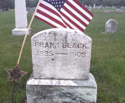 BLACK, FRANK - Delaware County, Ohio   FRANK BLACK - Ohio Gravestone Photos