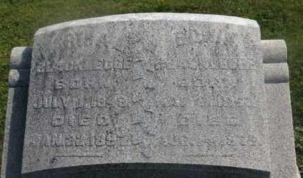 BLACKLEDGE, EDWIN - Delaware County, Ohio | EDWIN BLACKLEDGE - Ohio Gravestone Photos