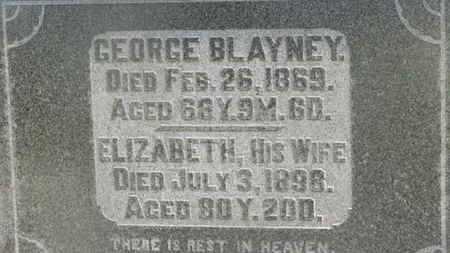 BLAYNEY, ELIZABETH - Delaware County, Ohio | ELIZABETH BLAYNEY - Ohio Gravestone Photos