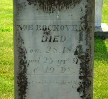BOCKOVEN, NOE - Delaware County, Ohio   NOE BOCKOVEN - Ohio Gravestone Photos