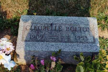 PRATT BOLTON, CLEOBELLE - Delaware County, Ohio | CLEOBELLE PRATT BOLTON - Ohio Gravestone Photos