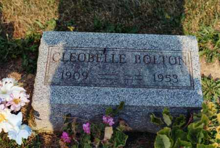 BOLTON, CLEOBELLE - Delaware County, Ohio | CLEOBELLE BOLTON - Ohio Gravestone Photos