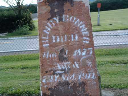 BONNER, HENRY - Delaware County, Ohio | HENRY BONNER - Ohio Gravestone Photos