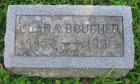MCABEE BOUGHER, CLARA - Delaware County, Ohio | CLARA MCABEE BOUGHER - Ohio Gravestone Photos
