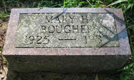 BOUGHER, MARY H. - Delaware County, Ohio   MARY H. BOUGHER - Ohio Gravestone Photos