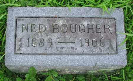 BOUGHER, NED - Delaware County, Ohio | NED BOUGHER - Ohio Gravestone Photos