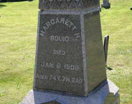 BOUIC, MARGARETT H. - Delaware County, Ohio   MARGARETT H. BOUIC - Ohio Gravestone Photos