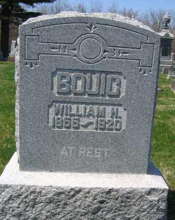 BOUIC, WILLIAM H. - Delaware County, Ohio   WILLIAM H. BOUIC - Ohio Gravestone Photos