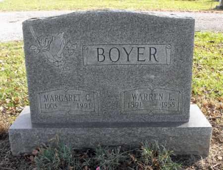 BOYER, WARREN LLOYD - Delaware County, Ohio | WARREN LLOYD BOYER - Ohio Gravestone Photos