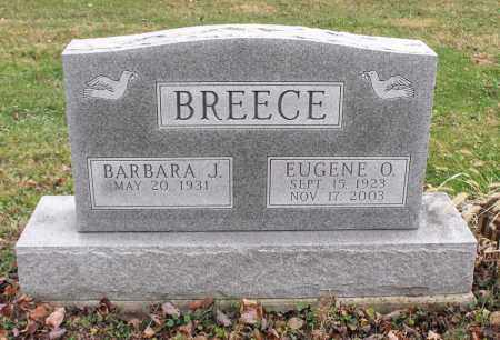 BREECE, EUGENE OKIE - Delaware County, Ohio | EUGENE OKIE BREECE - Ohio Gravestone Photos