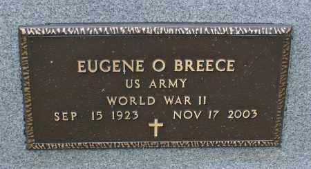 BREECE, EUGENE O. - Delaware County, Ohio | EUGENE O. BREECE - Ohio Gravestone Photos