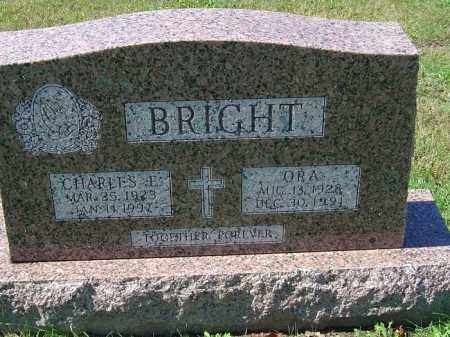 BRIGHT, CHARLES E - Delaware County, Ohio | CHARLES E BRIGHT - Ohio Gravestone Photos