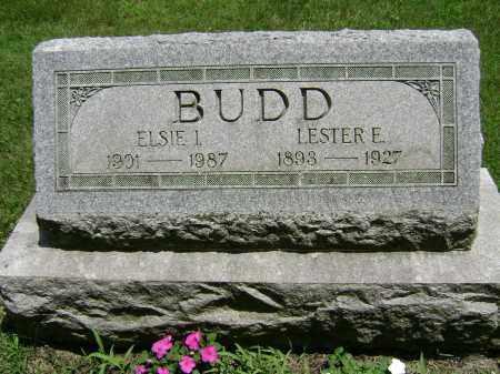 BUDD, ELSIE I - Delaware County, Ohio | ELSIE I BUDD - Ohio Gravestone Photos