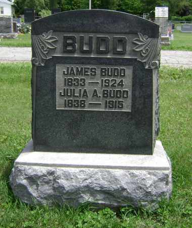 BENNETT BUDD, JULIA A - Delaware County, Ohio | JULIA A BENNETT BUDD - Ohio Gravestone Photos