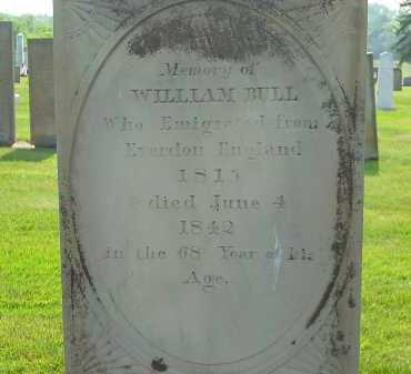 BULL, WILLIAM - Delaware County, Ohio | WILLIAM BULL - Ohio Gravestone Photos