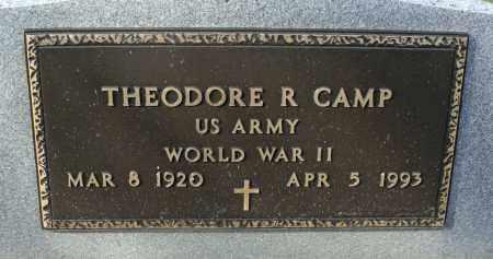 CAMP, THEODORE RICHARD - Delaware County, Ohio | THEODORE RICHARD CAMP - Ohio Gravestone Photos