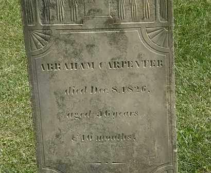 CARPENTER, ABRAHAM - Delaware County, Ohio | ABRAHAM CARPENTER - Ohio Gravestone Photos