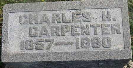 CARPENTER, CHARLES H. - Delaware County, Ohio   CHARLES H. CARPENTER - Ohio Gravestone Photos