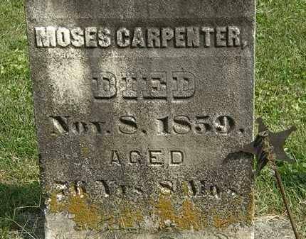 CARPENTER, MOSES - Delaware County, Ohio | MOSES CARPENTER - Ohio Gravestone Photos