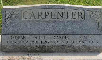 CARPENTER, ORDEAN - Delaware County, Ohio | ORDEAN CARPENTER - Ohio Gravestone Photos