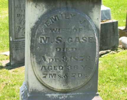 CASE, EMILY J. - Delaware County, Ohio | EMILY J. CASE - Ohio Gravestone Photos