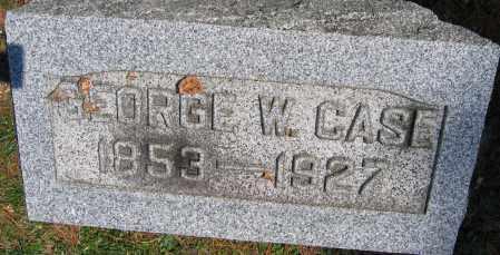 CASE, GEORGE W. - Delaware County, Ohio | GEORGE W. CASE - Ohio Gravestone Photos