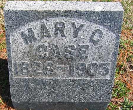 CASE, MARY C. - Delaware County, Ohio   MARY C. CASE - Ohio Gravestone Photos