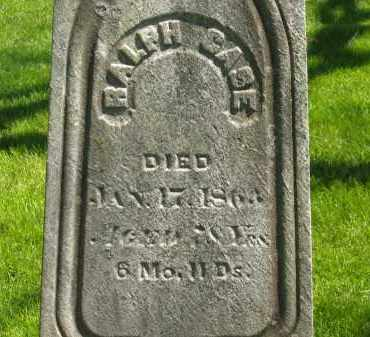 CASE, RALPH - Delaware County, Ohio | RALPH CASE - Ohio Gravestone Photos