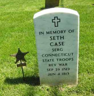 CASE, SETH - Delaware County, Ohio | SETH CASE - Ohio Gravestone Photos