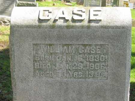 CASE, WILLIAM - Delaware County, Ohio   WILLIAM CASE - Ohio Gravestone Photos