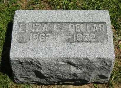 CELLAR, ELIZA E. - Delaware County, Ohio   ELIZA E. CELLAR - Ohio Gravestone Photos