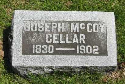 CELLAR, JOSEPH MCCOY - Delaware County, Ohio   JOSEPH MCCOY CELLAR - Ohio Gravestone Photos