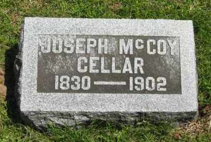 CELLAR, JOSEPH MCCOY - Delaware County, Ohio | JOSEPH MCCOY CELLAR - Ohio Gravestone Photos