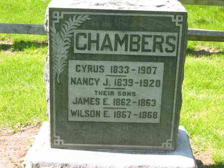 CHAMBERS, JAMES E. - Delaware County, Ohio | JAMES E. CHAMBERS - Ohio Gravestone Photos