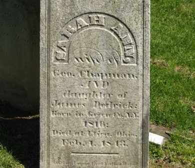 CHAPMAN, GEO. - Delaware County, Ohio | GEO. CHAPMAN - Ohio Gravestone Photos
