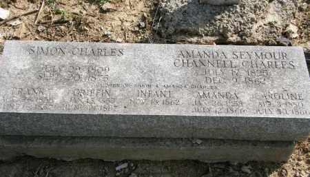 SEYMOUR CHARLES, AMANDA - Delaware County, Ohio | AMANDA SEYMOUR CHARLES - Ohio Gravestone Photos