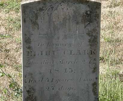 CLARK, ELIHU - Delaware County, Ohio | ELIHU CLARK - Ohio Gravestone Photos