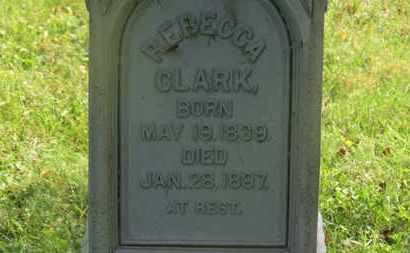 CLARK, REBECCA - Delaware County, Ohio | REBECCA CLARK - Ohio Gravestone Photos