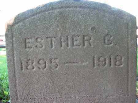 CLOVER, ESTHER G. - Delaware County, Ohio | ESTHER G. CLOVER - Ohio Gravestone Photos