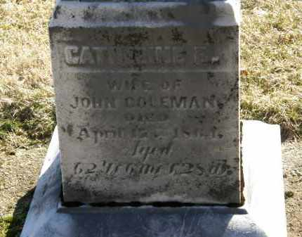 COLEMAN, CATHERINE B. - Delaware County, Ohio | CATHERINE B. COLEMAN - Ohio Gravestone Photos