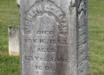 COLEMAN, JOSEPH - Delaware County, Ohio   JOSEPH COLEMAN - Ohio Gravestone Photos