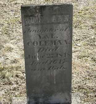 COLEMAN, E. - Delaware County, Ohio   E. COLEMAN - Ohio Gravestone Photos