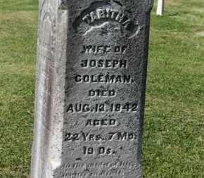COLEMAN, TABITHA - Delaware County, Ohio   TABITHA COLEMAN - Ohio Gravestone Photos