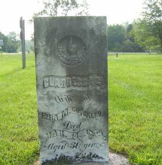 CONKLIN, CLARISSA C. - Delaware County, Ohio   CLARISSA C. CONKLIN - Ohio Gravestone Photos