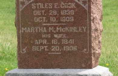 COOK, MARTHA M. - Delaware County, Ohio | MARTHA M. COOK - Ohio Gravestone Photos