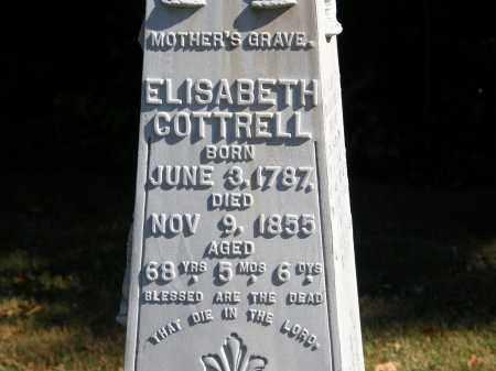 COTTRELL, ELISABETH - Delaware County, Ohio | ELISABETH COTTRELL - Ohio Gravestone Photos